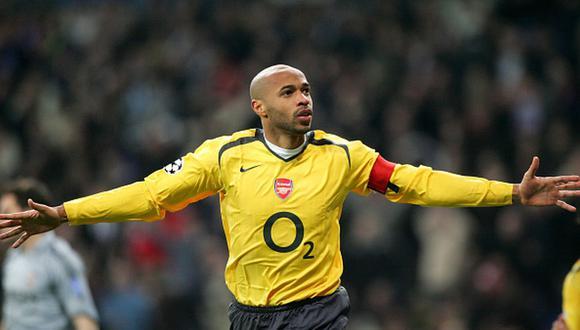 Henry jugó en el Arsenal entre 1999 y 2012, la época más gloriosa del club. (Foto: Getty)