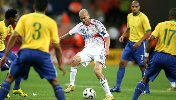 Zinedine Zidane y el día en que acabó con el sueño de un Brasil repleto de estrellas.