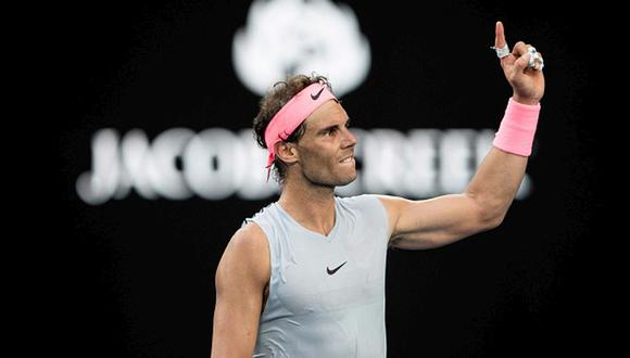 Nadal tiene 16 títulos de Grand Slam. (Getty Images)