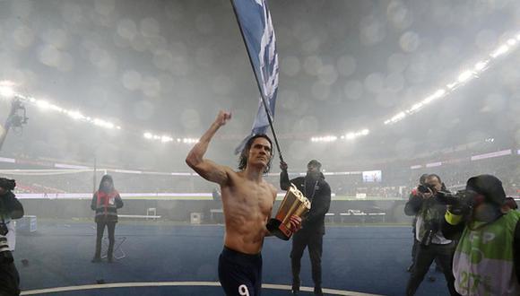Edinson Cavani juega como delantero en el París Saint-Germain de la Ligue 1 francesa. (Foto: Getty Images)