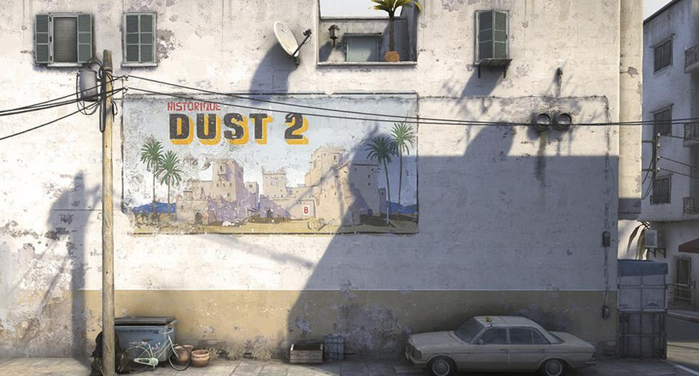 Nuevo Dust 2 (Foto: Internet)