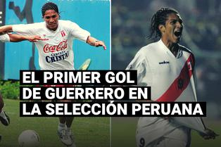 Se cumplen dieciséis años del primer gol de Paolo Guerrero en la Selección Peruana