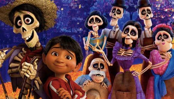 """""""Coco"""" es la película de Pixar que se estrenó en 2017 nos mostró la historia de 'Mamá Coco' y su nieto Miguel (Foto: Pixar)"""
