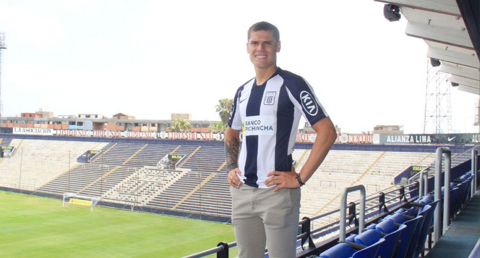 Sebastián Gonzales Zela acaba de ser prestado a la Universidad San Martín. (Prensa Alianza Lima)