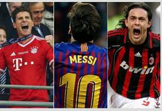 Los 10 jugadores con más hat-tricks en la historia de la UEFA Champions League [FOTOS]