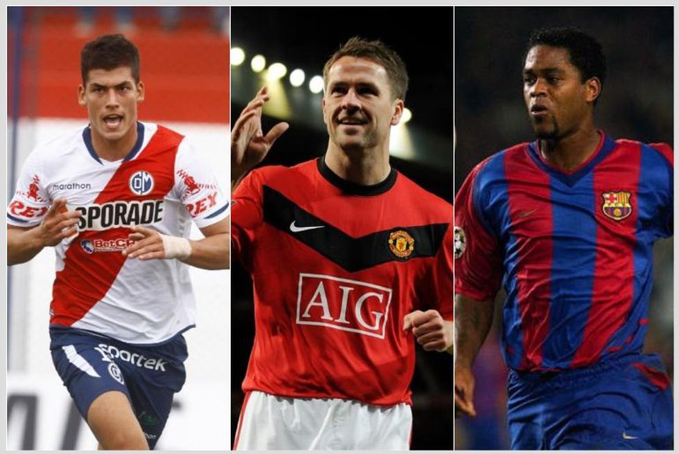 Los futbolistas que dejaron el fútbol a temprana edad. (Internet)