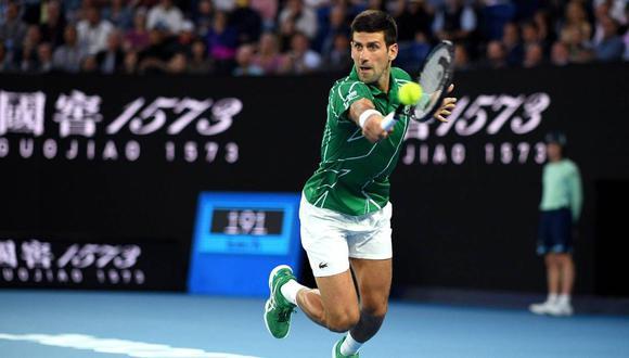 Djokovic jugará ahora con Roger Federer. (Foto: Getty Images)
