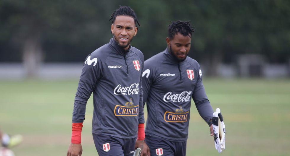 Así fue el primer entrenamiento de Carlos Cáceda y Pedro Gallese junto a Oscar Ibañez. (Fotos: Jesús Saucedo)