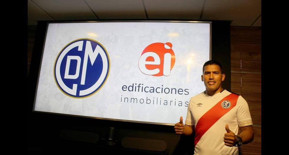 Andy Pando. (Foto: Deportivo Municipal)