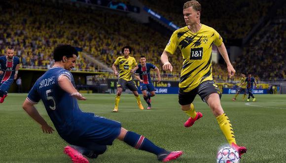 FIFA 21 prepara una herramienta para que el jugador sepa cuánto dinero ha gastado. (Foto: EA Sports)