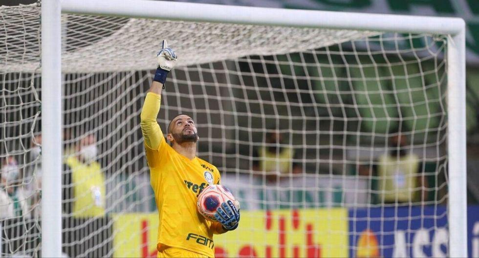 Weverton - Palmeiras. (Foto: Agencias)