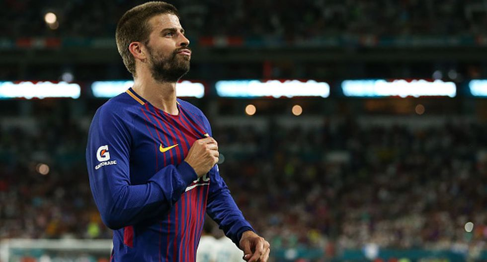 Gerard Piqué. (Getty Images)