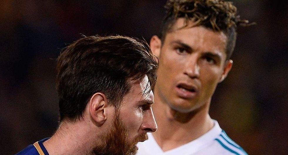 Cristiano Ronaldo y Lionel Messi se enfrentaron en LaLiga desde 2009 a 2018. (Foto: AFP)