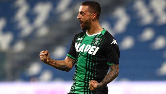 'Ciccio' Caputo marcó un doblete en la fecha 37 y superó los 20 goles en la temporada. (Foto: Twitter)
