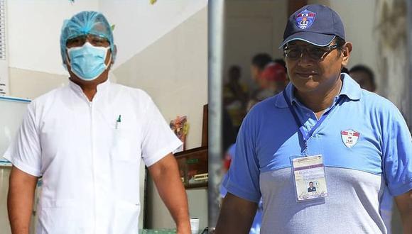 Luis Enrique, el entrenador de Copa Perú que es médico y lucha contra el COVID-19 (Foto: Cortesía)