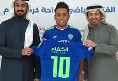 Christian Cueva ya tiene nuevo equipo: fue oficializado por el Al-Fateh de Arabia Saudita