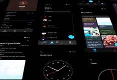 """¿Cómo puedo obtener el """"modo oscuro"""" en mi smartphone Huawei?"""
