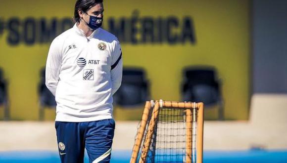 Santiago Solari fue jugador del Real Madrid durante el 2000-2005. Hoy es entrenador del América de la Liga MX. (Foto: Imago 7)