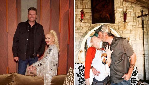 Gwen Stefani y Blake Shelton se conocieron en el 2014 y confirmaron su noviazgo en el 2015. (Foto: Instagram/ @gwenstefani).
