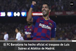 Luis Suárez inflará redes en Atlético Madrid