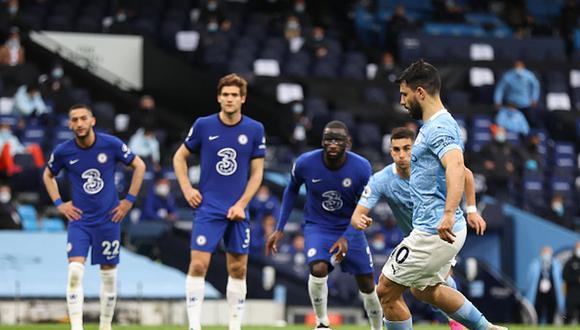 Sergio Agüero jugará en Manchester City solo hasta el 30 de junio de 2021. (Getty)