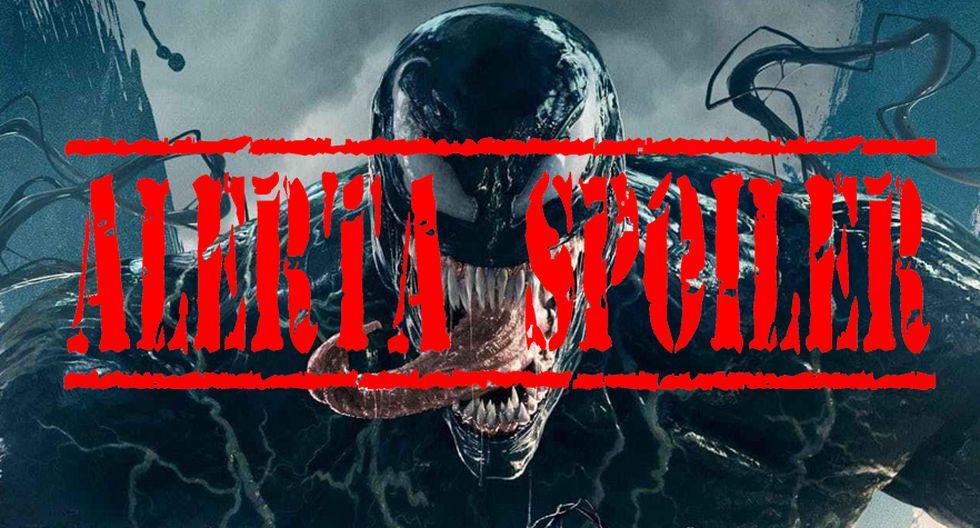 ¡Cuidado! Spoilers de Venom más adelante (Foto: Sony)