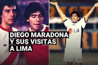 Diego Armando Maradona: conoce las veces que el astro argentino jugó en Lima