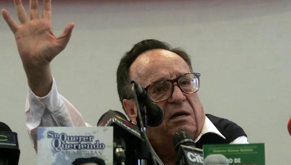 La madre de Roberto Gómez Bolaños era prima del expresidente mexicano (Foto: Mauricio Duenas / AFP)