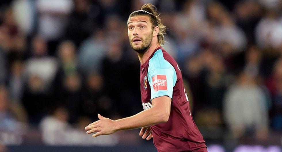 Jugador: Andy Carroll / Club: West Ham. (Getty)