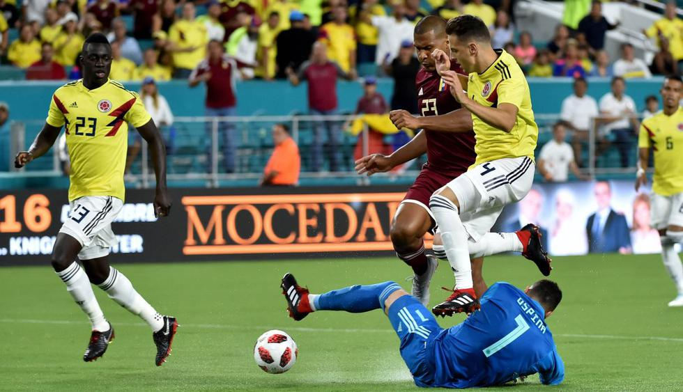 Triunfo 'Cafetero': Colombia venció 2-1 a Venezuela por partido amistoso internacional en Miami. (Agencias)