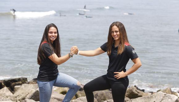 María Pía y Diana comenzaron en el mundo de la vela en 2012. (Foto: Violeta Ayasta/ Grupo El Comercio)