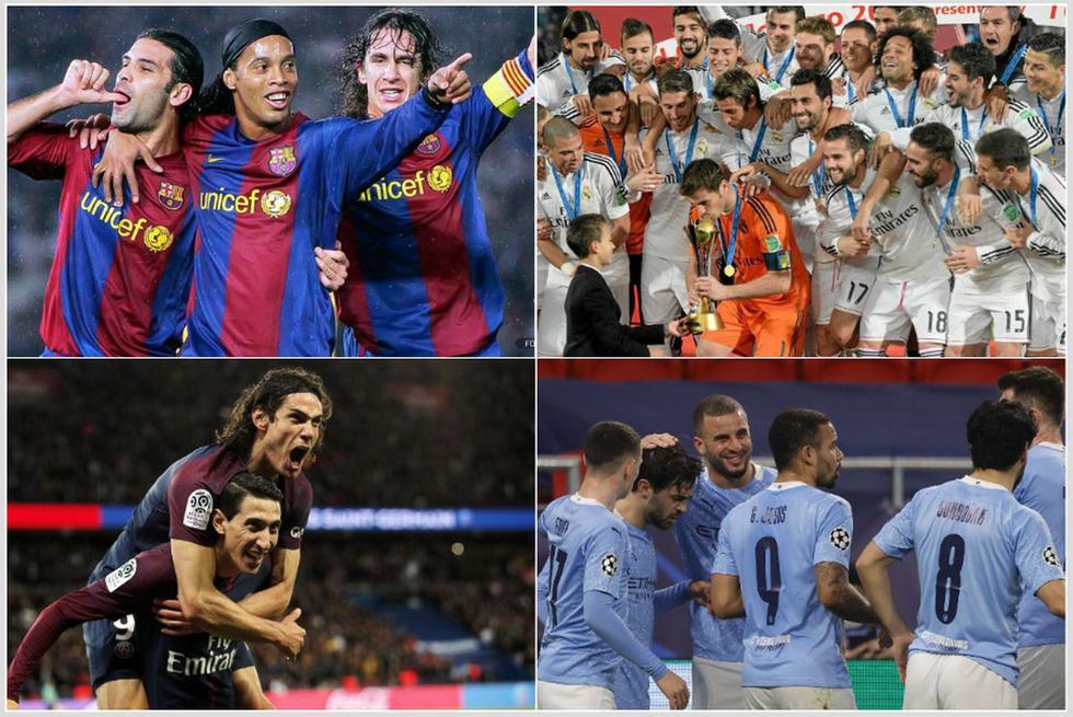 Las mejores rachas de triunfos al hilo en las cinco grandes ligas de Europa. (Getty)