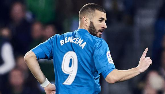 Karim Benzema se perdería el Mundial de Rusia 2018 (Foto: Getty Images).