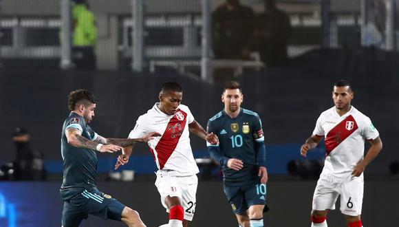 Perú vs. Argentina en el estadio Monumental de Buenos Aires (Foto: Selección Peruana)
