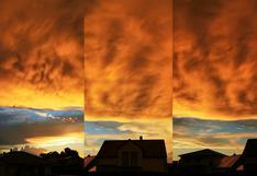 """Nubes """"infernales"""" cubren el cielo de Alemania y el extraño fenómeno aterra al Internet"""
