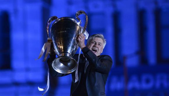 Carlo Ancelotti ganó una Champions League con Real Madrid. (Foto: AFP)