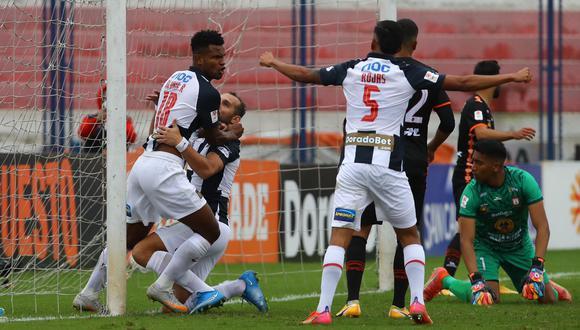 Aldair Rodríguez anotó en su estreno con Alianza Lima ante Ayacucho FC. (Foto: Liga 1)