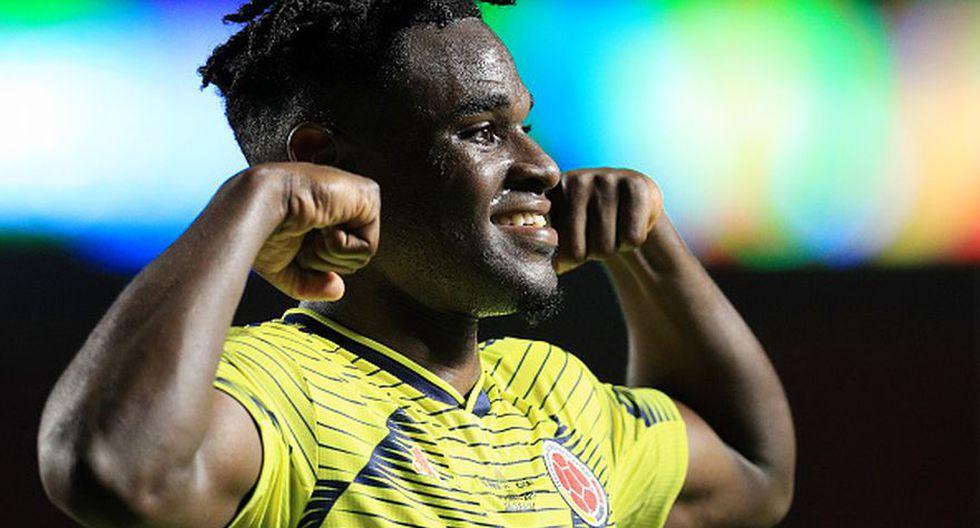 Apareció el goleador: Duván Zapata le dio a Colombia el pase a cuartos de final de la Copa América 2019 (Getty)