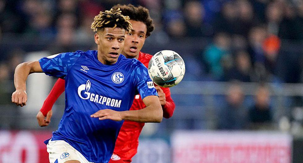 Jean-Clair Todibo llegó al Schalke en el mercado de fichajes de invierno. (Getty)