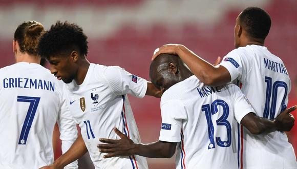 Kanté marcó el gol del triunfo para Francia ante Portugal por el Grupo 3 de la Nations League.