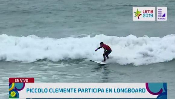 'Piccolo' Clemente debutó en los Juegos Panamericano. (Latina)