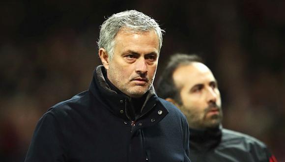 José Mourinho llegó al Manchester United en el 2016. (Getty)