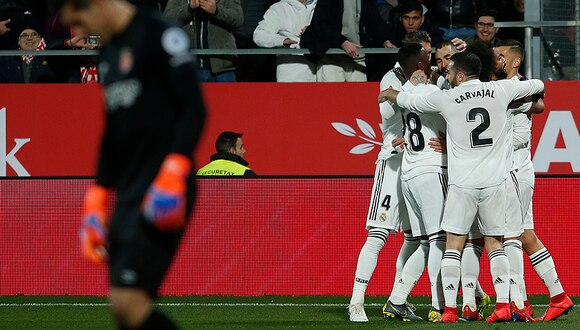 Real Madrid clasificó a la siguiente ronda de la Copa del Rey.   AFP