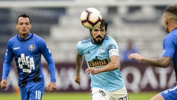 Sporting Cristal venció por 3-2 al Zulia FC en la vuelta de los octavos de final de la Copa Sudamericana 2019. Sin embargo, la victoria 1-0 en Venezuela le aseguró el pase a la siguiente ronda al conjunto llanero. (Foto: AFP)
