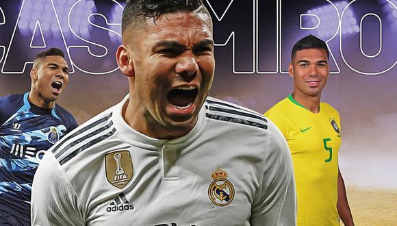 Casemiro: biografía, equipos, títulos, goles, estadísticas y ficha del crack de Brasil y Real Madrid. (Getty Images)