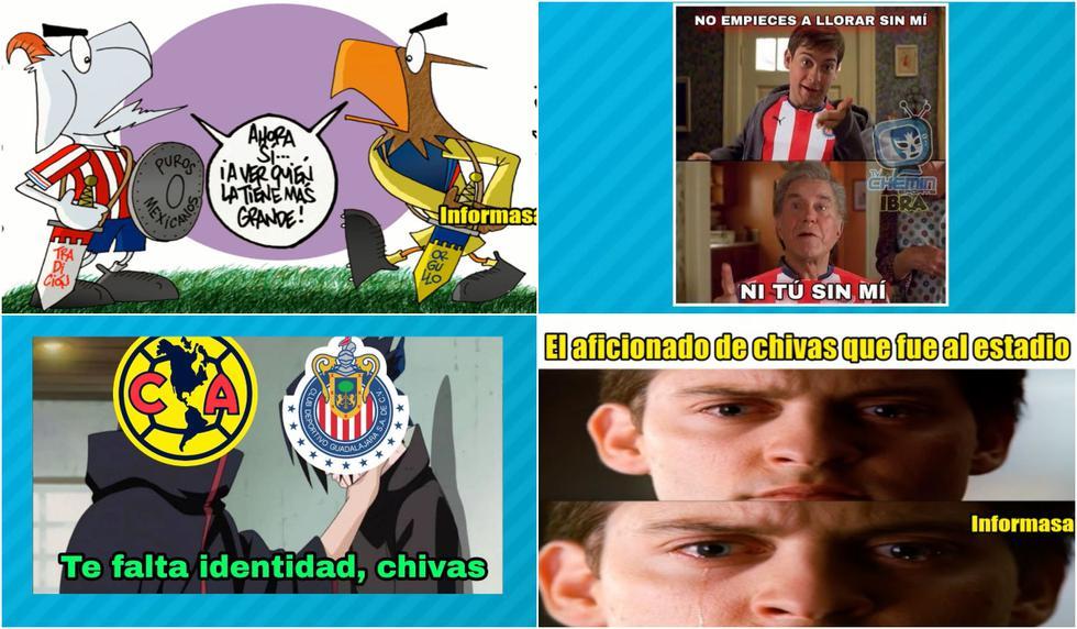 Los mejores memes del América-Chivas por el Apertura 2021 (Foto: Facebook).