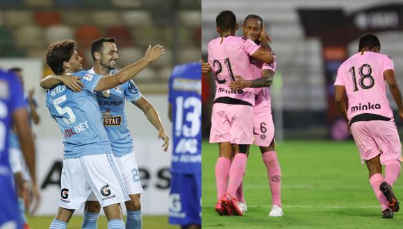 Sporting Cristal y Sport Boys chocarán por la fecha 2 del grupo B. (Fotos: Liga 1)