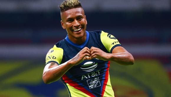 El centrocampista peruano marcó su primer gol oficial como 'Águila'. (Foto: Club América)