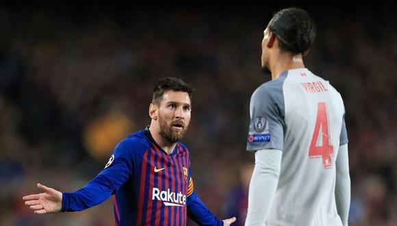 Messi no y Virgil sí para Steven Gerrard. (Foto: Agencias)
