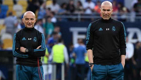 Antonio Pintus fue el preparador físico del Real Madrid de las tres Champions seguidas. (Foto: AFP)